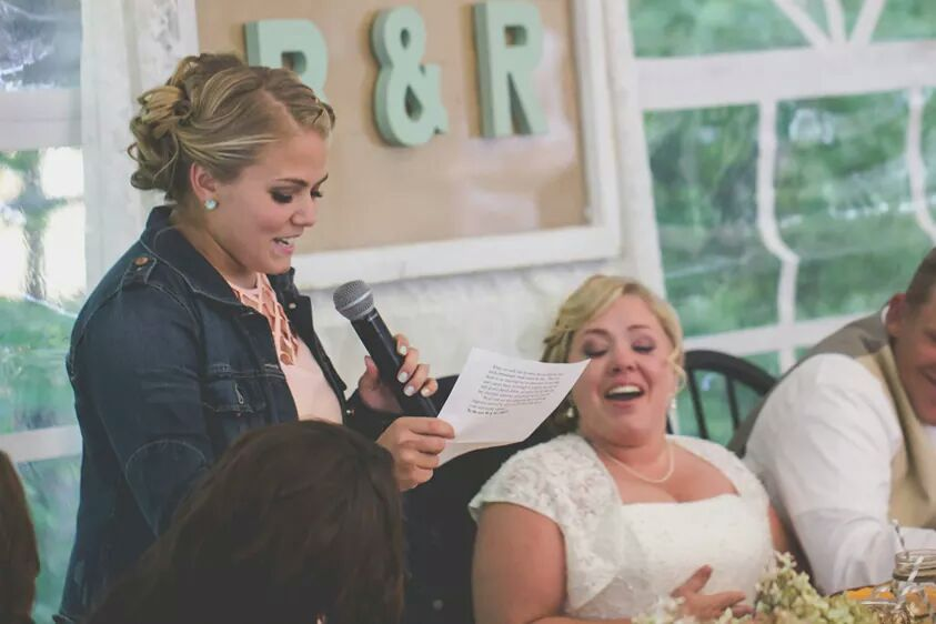 """Funny Wedding Toasts: A How-To Guide …or maybe """"How-NOT-To"""""""